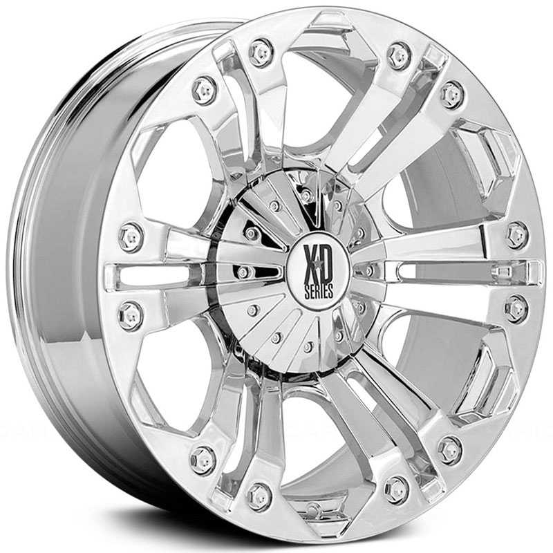 KMC 778 XD Series Monster  Wheels Chrome