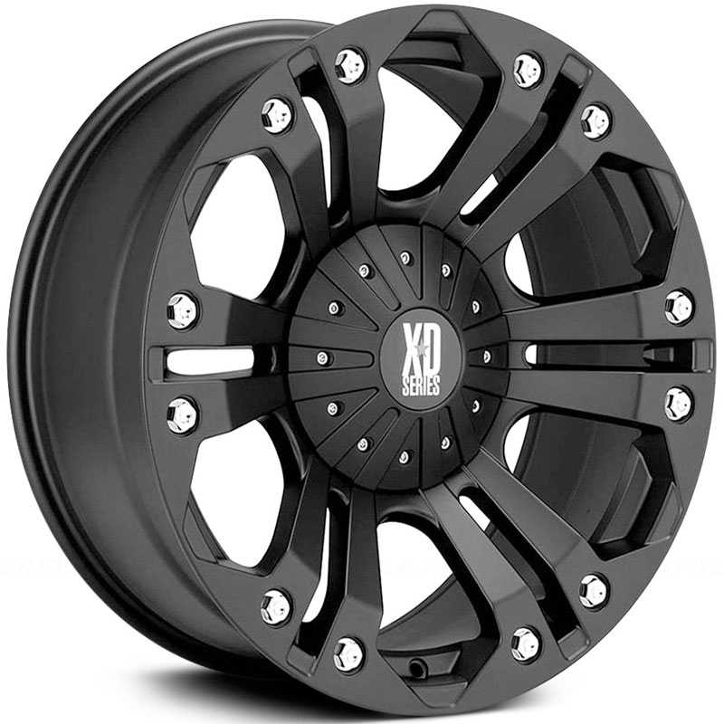 KMC 778 XD Series Monster  Wheels Matte Black