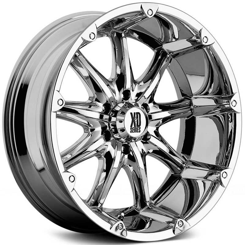 KMC 779 XD Series Badlands  Wheels Chrome