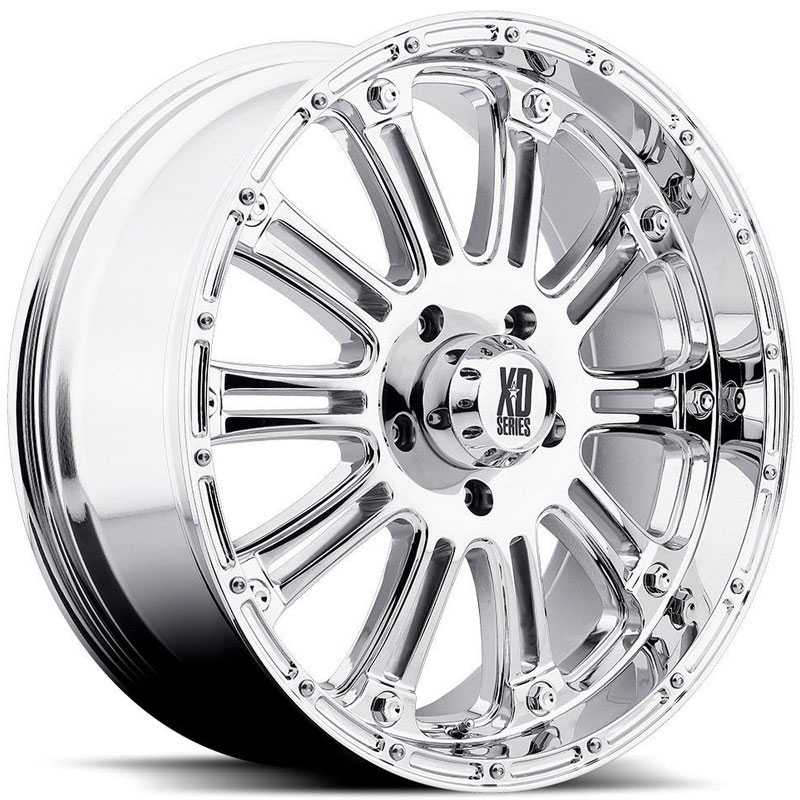 KMC 795 XD Series Hoss  Wheels Chrome
