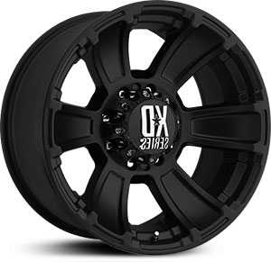 KMC 796 XD Series Revolver  Wheels Matte Black