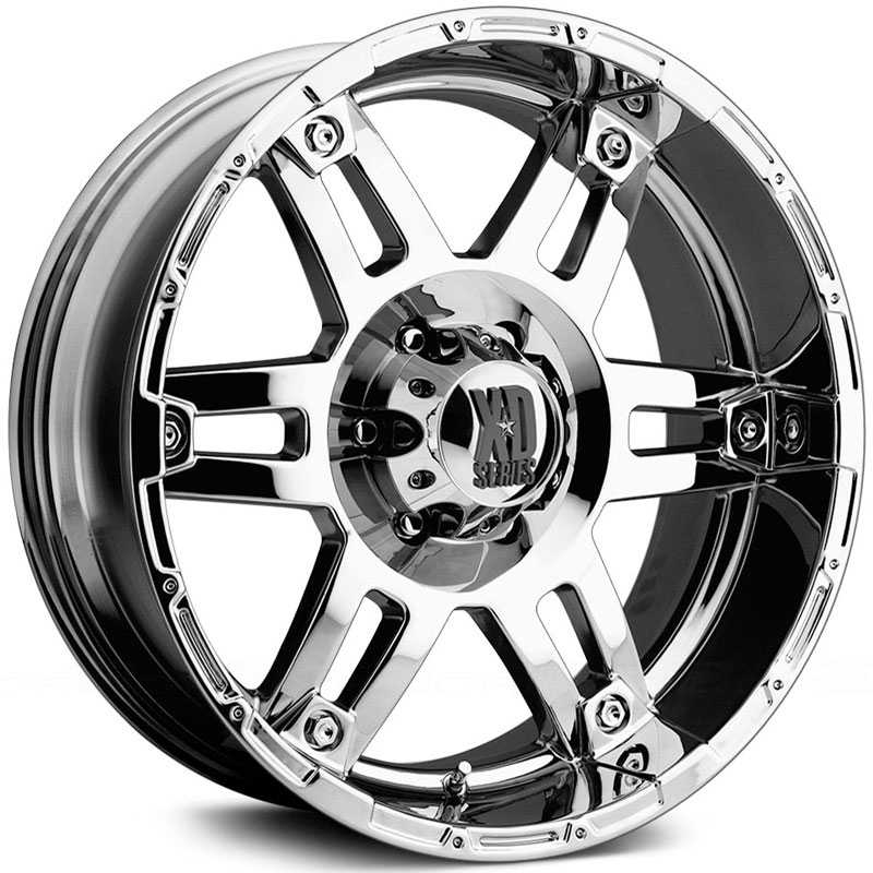 KMC 797 XD Series Spy  Wheels Chrome