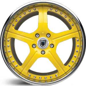 Asanti AF 118  Wheels Yellow