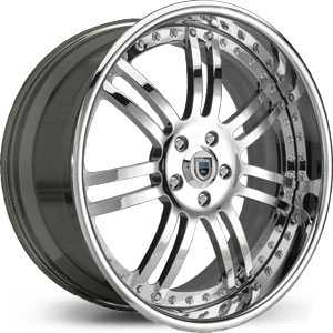 Asanti AF 123  Wheels Chrome