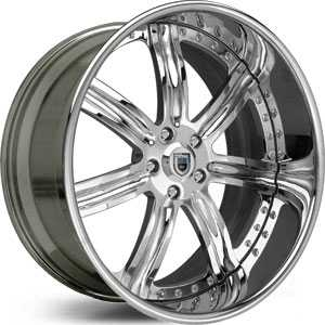 Asanti AF 126  Wheels Chrome