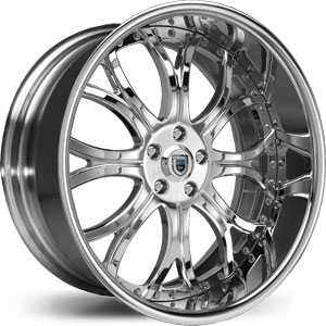 Asanti AF 154  Wheels Chrome