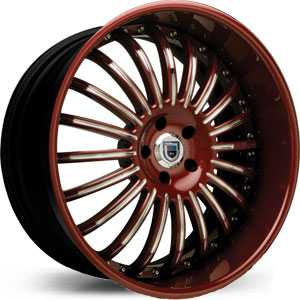 Asanti AFC 402  Wheels Black/Red and Chrome