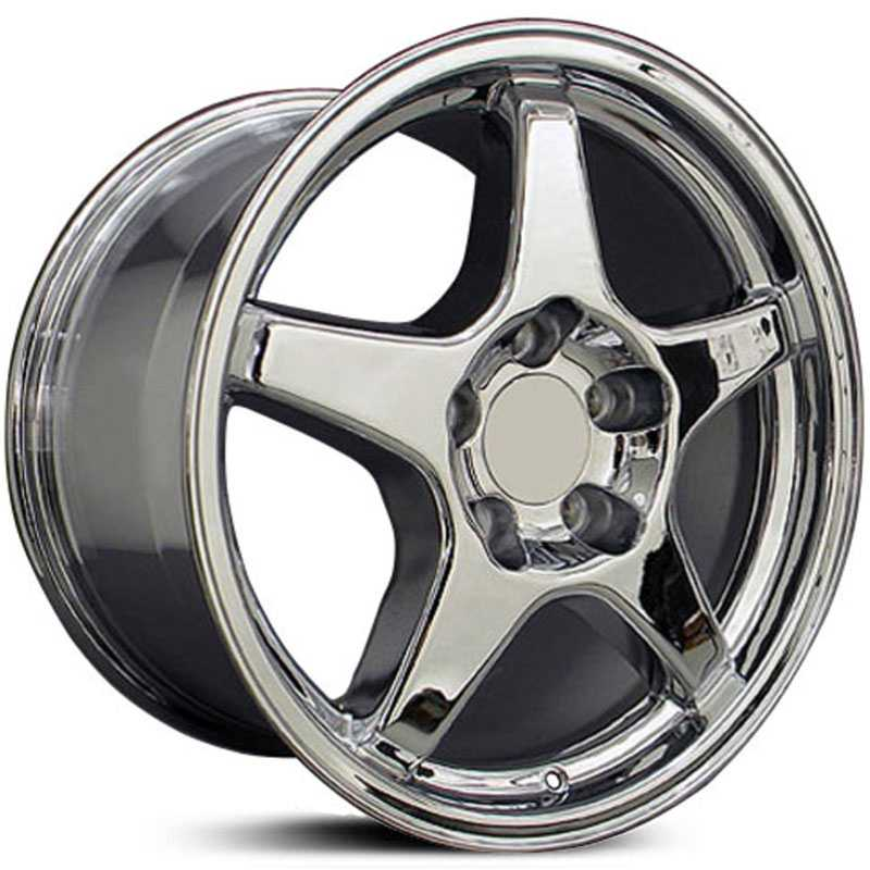 Chevy CV01 Corvette ZR1  Rims Chrome