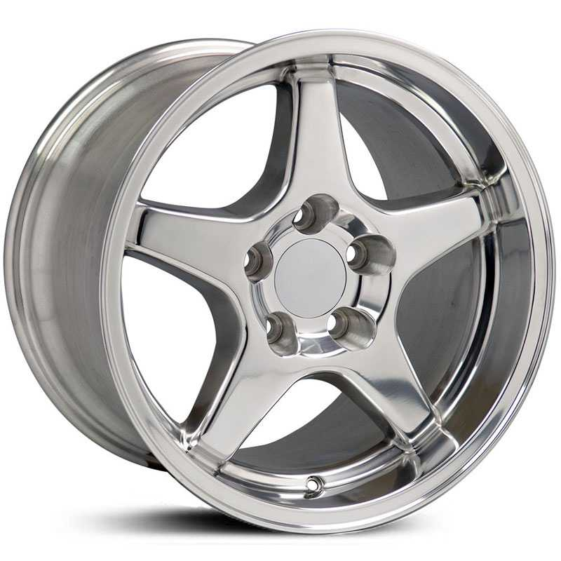 Chevy CV01 Corvette ZR1  Rims Polished