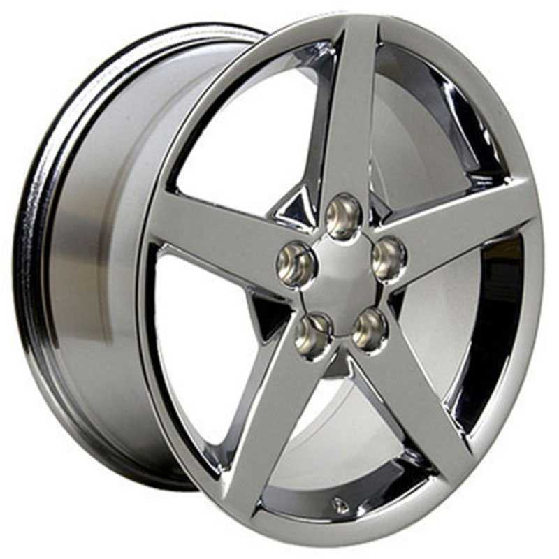 Chevy Corvette C6 CV06  Wheels Chrome