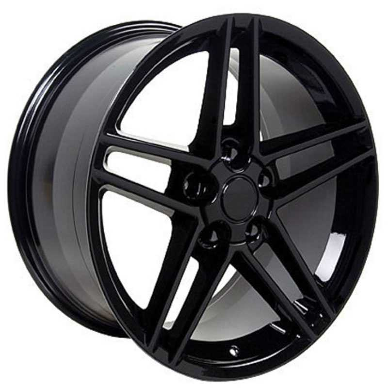 Chevy Corvette C6 Z06 CV07  Rims Black