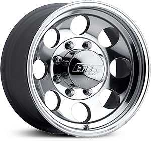 18x9 Eagle Alloy 186 Super Finish RWD