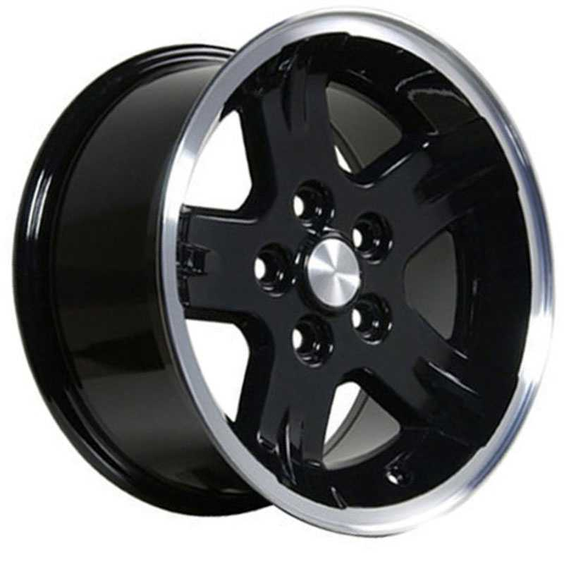 Jeep Wrangler JP03  Wheels Black
