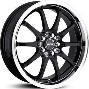 MSR 092  Wheels Black