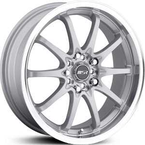 MSR 092  Wheels Silver