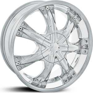 18x7.5 Shooz 009 Chrome HPO