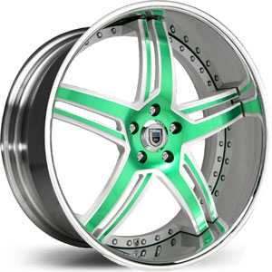 Asanti AF 162  Wheels Chrome/Custom Colors