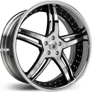 Asanti AF 162  Wheels Chrome/Two Tone