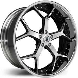 Asanti AF 164  Wheels Chrome/Two Tone