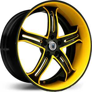 Asanti AF 167  Wheels Black/Custom Colors
