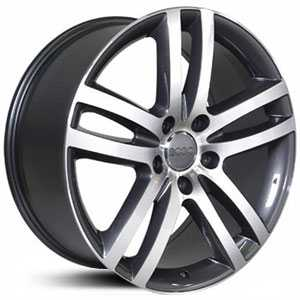 Audi Q7 AU10  Wheels Machined Face Gunmetal