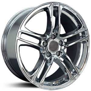 Audi R8 AU07  Wheels Chrome