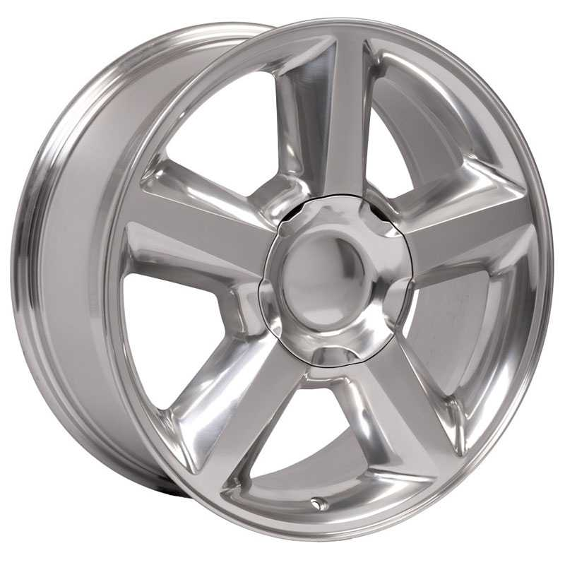 Chevy 083 Tahoe  Wheels Polished