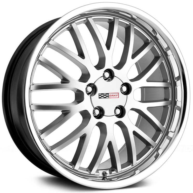 Cray Manta  Wheels Hyper Silver w/ Mirror Cut Lip