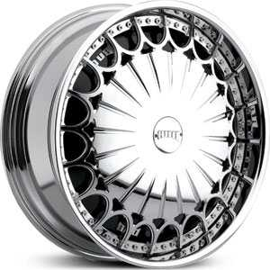 Dub Kingster Spinner Chrome