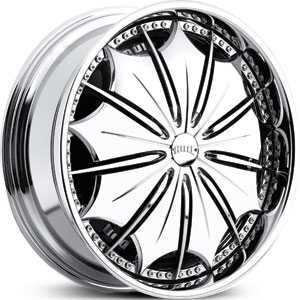 Dub Presidential Spinner Chrome