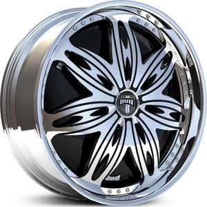 Dub Ravenous Spinner Wheels Rims