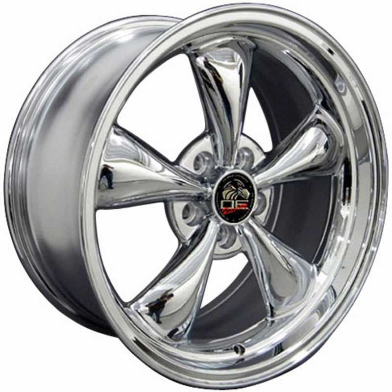 Fits Ford Mustang Bullitt FR01  Wheels Chrome