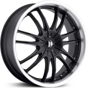 Helo HE845  Wheels Gloss Black Machined