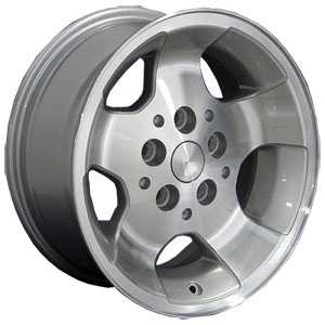 Jeep Wrangler JP08  Wheels Machined Face Silver