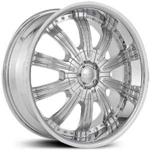 22x9.5 Starr Reward Chrome RWD