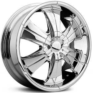 Velocity 166  Rims Chrome