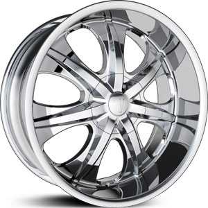 Velocity 725S  Rims Chrome