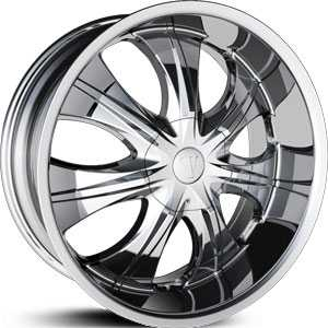 Velocity 750S  Wheels Chrome