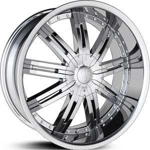 Velocity 800S  Rims Chrome