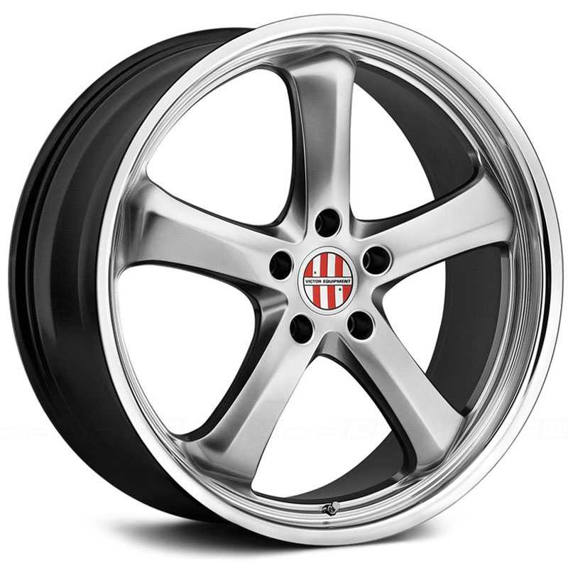 Victor Equipment Turismo  Wheels Hyper Silver w/ Chrome