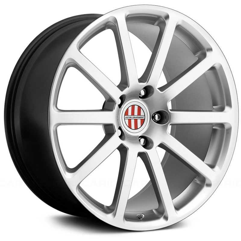 Victor Equipment Zehn  Wheels Hyper Silver