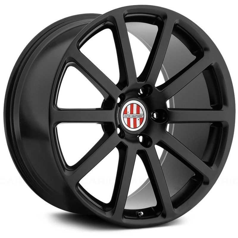 Victor Equipment Zehn  Wheels Matte Black