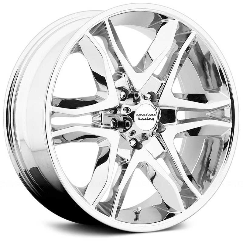 22x9 American Racing Mainline Chrome HPO