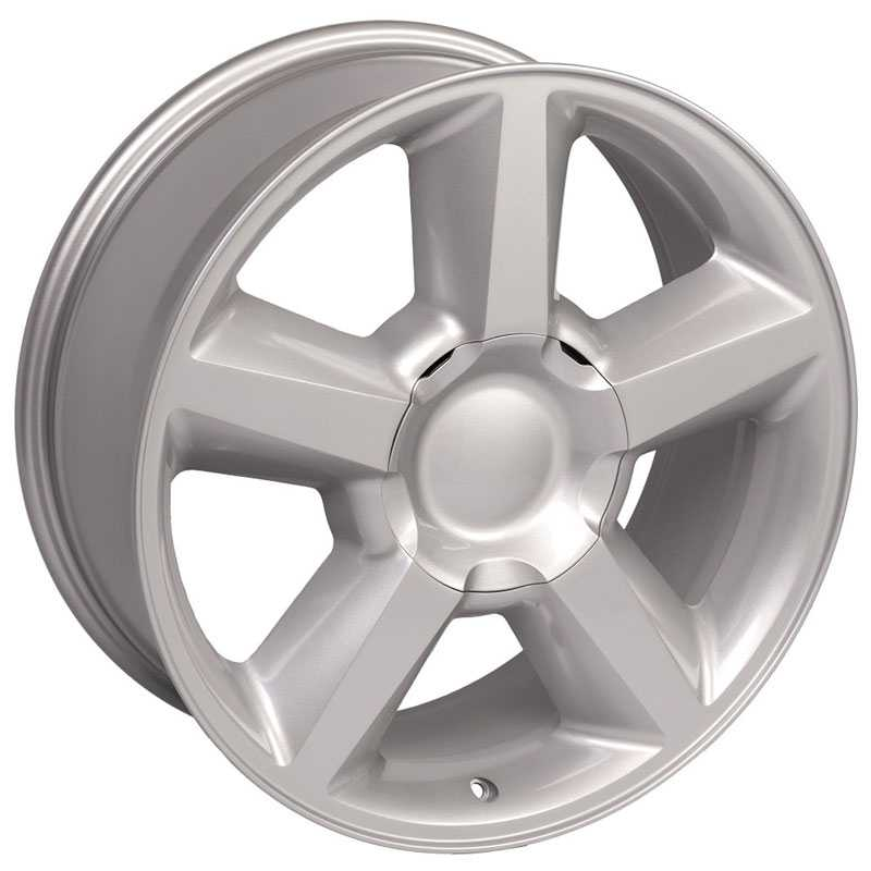 Chevy 083 Tahoe  Wheels Silver