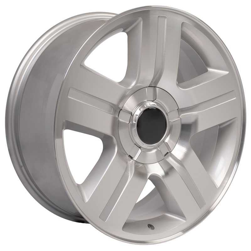 Chevy Texas CV84  Wheels Machined Silver