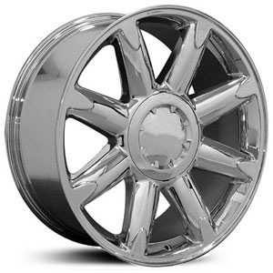 Chevy Denali CV85  Rims Chrome