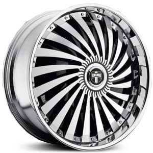 Dub Swyrl Spinner Chrome