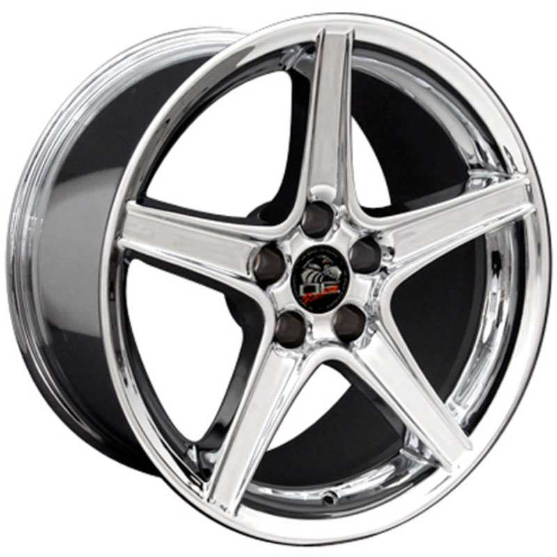 Fits Ford 18X10 Mustang Saleen Style (FR06) Chrome MID Wheels & Rims - Buy  $230