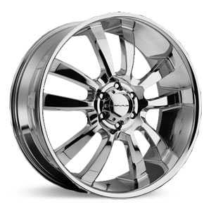 KMC 673 Skitch  Wheels Chrome