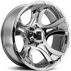 20x9 KMC XD Series XD801 Crank Chrome RWD